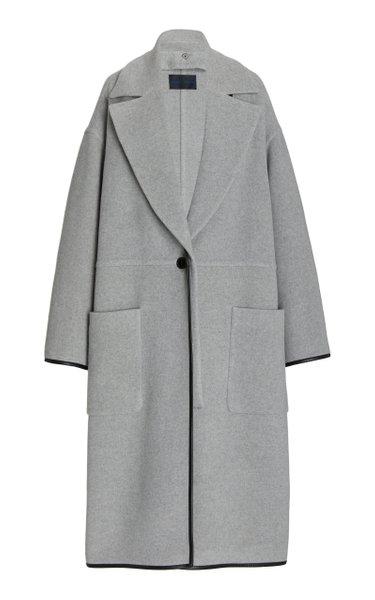 Doubleface Cashmere Convertible Coat