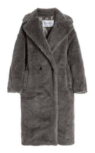 Oversized Teddy Cocoon Coat