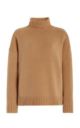 Trau Oversized Wool Turtleneck Sweater