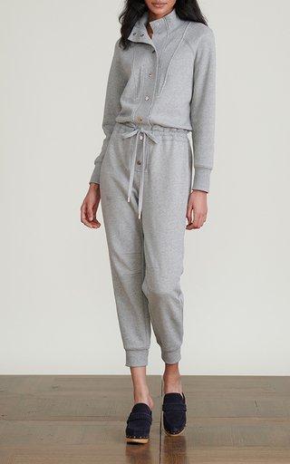 Finn Button-Detailed Cotton Jumpsuit