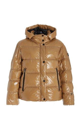 Evelia Hooded Down Puffer Jacket