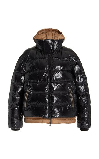Lizzy Hooded Ripstop Down Puffer Jacket