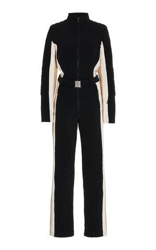 Talisha Belted Stretch-Shell Ski Suit