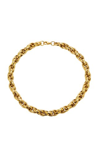 Toscano Gold-Plated Chain Necklace