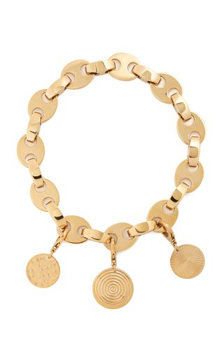 Gold-Tone Eight Choker