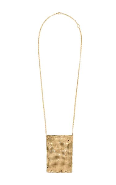 Gold-Tone Pixel Mini Bag