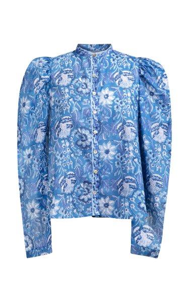 Annabel Printed Cotton Shirt