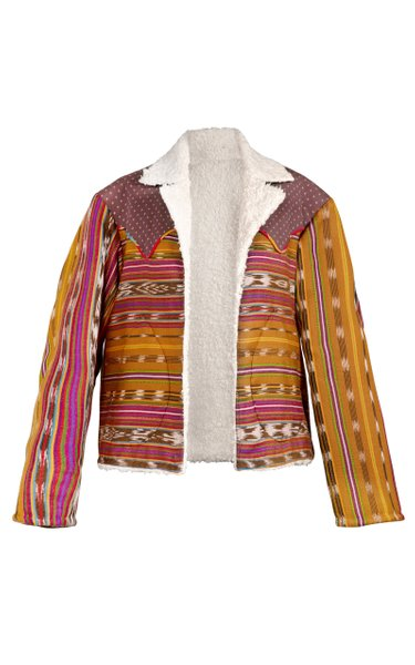 Sundowner Ikat Cotton Jacket