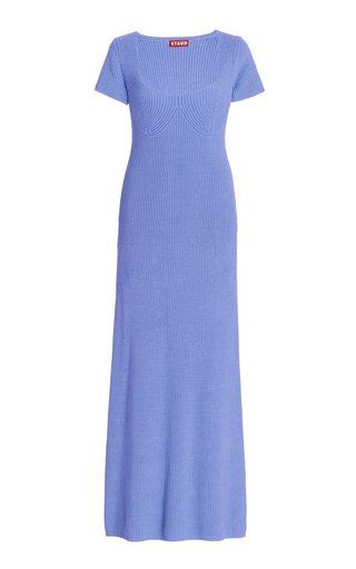 Camden Ribbed-Knit Maxi Dress