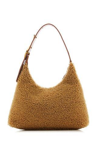 Scotty Shearling Shoulder Bag