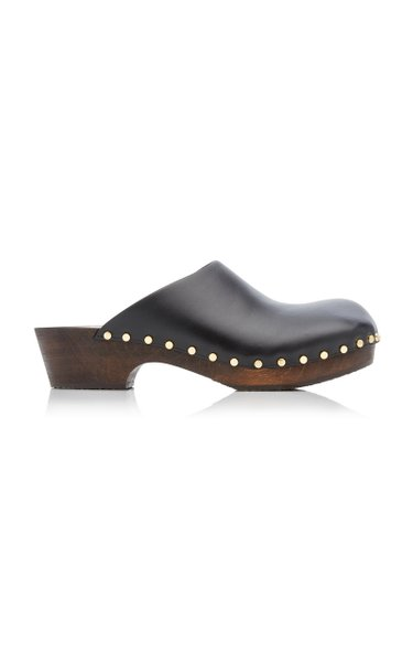 Lucca Leather Clogs