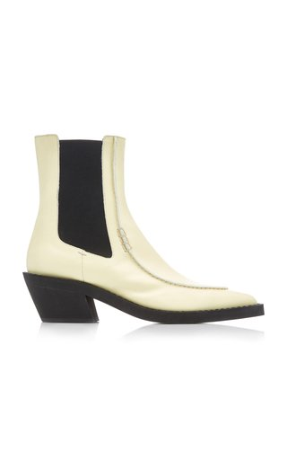 Charleston Leather Ankle Boots