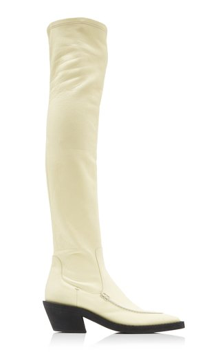 Charleston Over-The-Knee Leather Boots