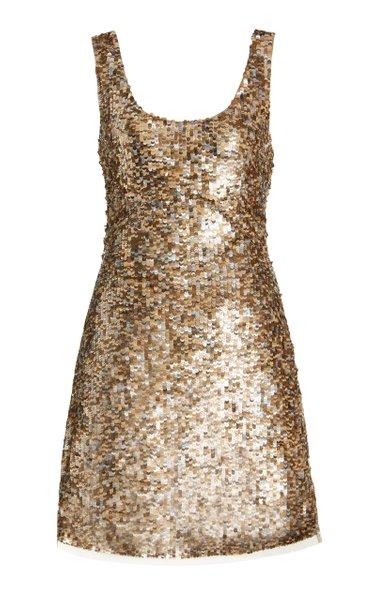 MADELINA Sequined Mini Dress