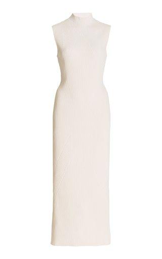 Rickman Ribbed-Knit Midi Dress