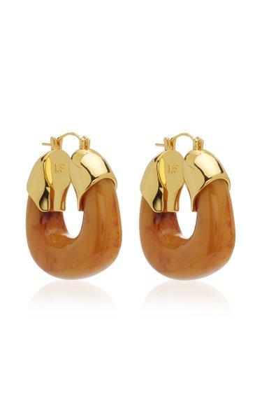 The Organic Acrylic Hoop Earrings
