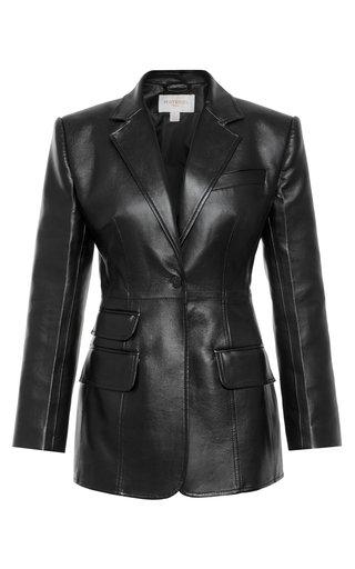 Eco-Leather Blazer