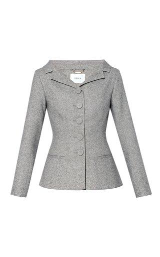 Joy Button-Detailed Twill Jacket