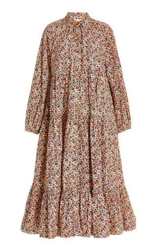 50's Cotton Midi Dress