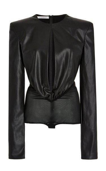 Eco-Leather Bodysuit