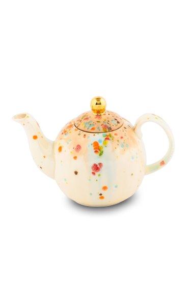 Teapot Chestnut 60cl Porcelain