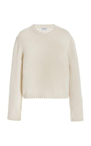 Zoe Cropped Wool-Blend Sweater