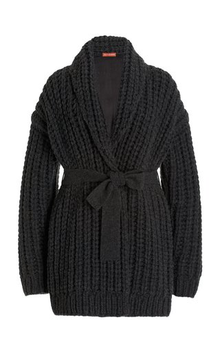 Haines Ribbed-Knit Cardigan
