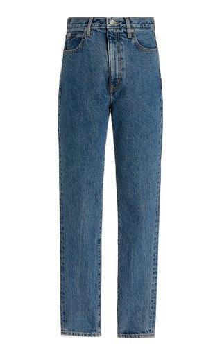 Beatnik Rigid High-Rise Organic Cotton Slim-Leg Jeans