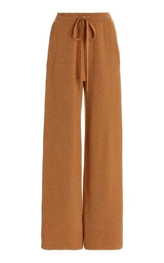 Oni Ribbed-Knit Wide-Leg Pants
