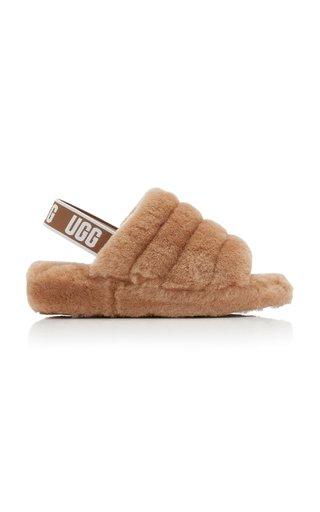 Fluff Yeah Sheepskin Slide Sandals