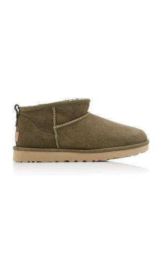 Classic Ultra Mini Sheepskin Ankle Boots