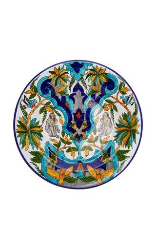Le Palemeraie Ottoman Handpainted Ceramic Plates