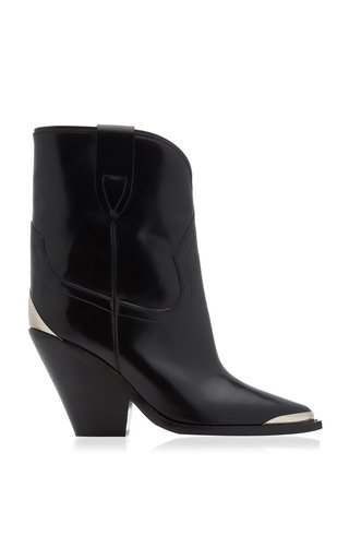 Leyane Metal Twist Santiag Boots