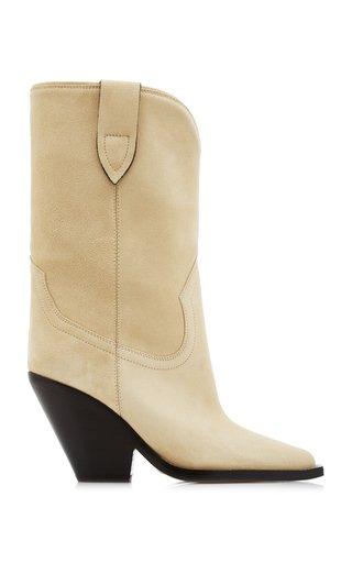 Laxime Twist Santiag Suede Boots