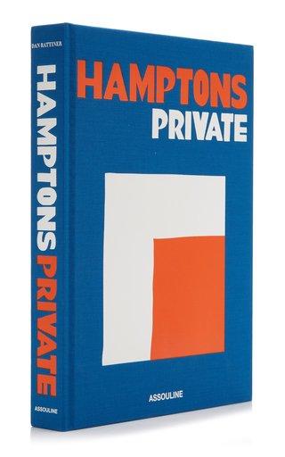 Hamptons Private Hardcover Book