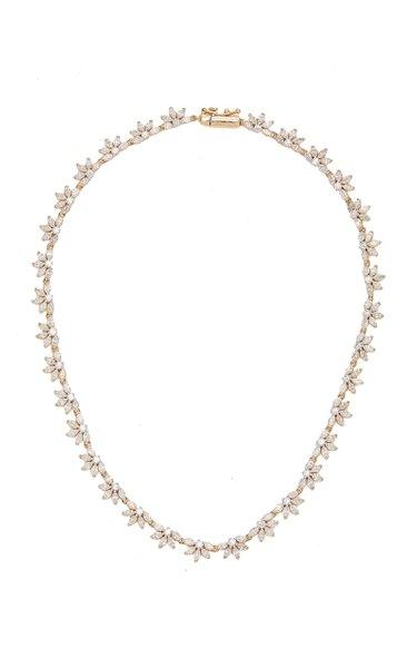 Grace Riviera 14k Gold Diamond Necklace