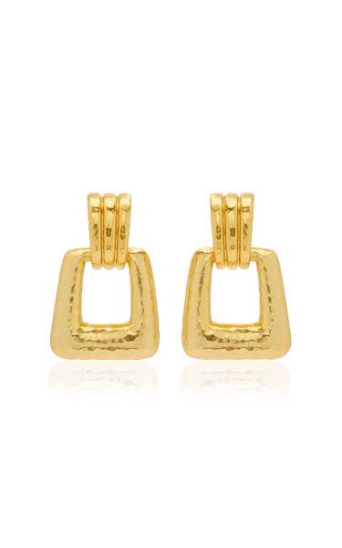 24K Gold-Plated Bianca Earrings