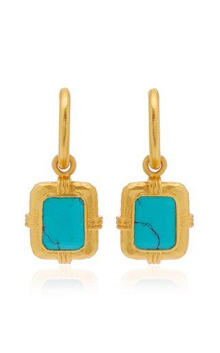 Turquoise Julie Drop Earrings