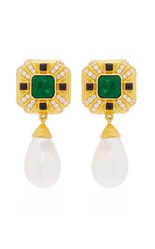 Diana Pearl Drop Earrings