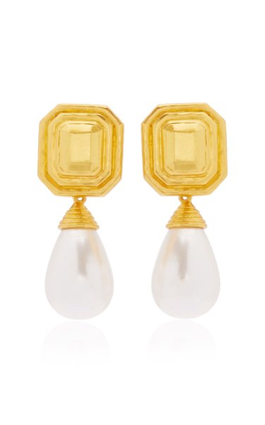 Cynthia Pearl Drop Earrings