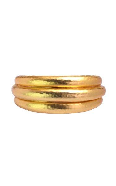 24K Gold-Plated Bianca Bangle