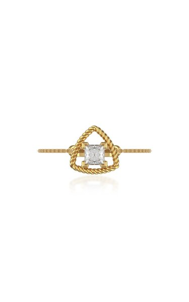Unity 18k Gold Solitaire DIamond Rings
