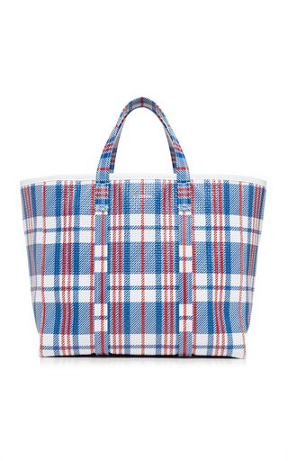 Barbes Medium E/W Leather Shopper Bag