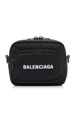 Wheel Logo-Embroidered Nylon Camera Bag
