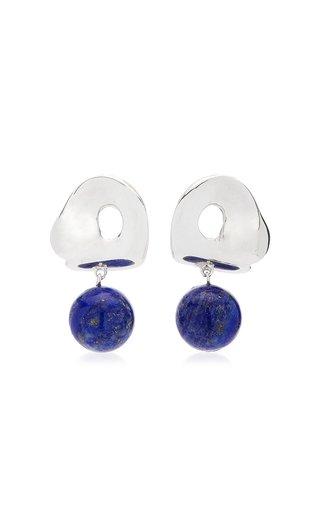 x Simone Bodmer-Turner Sandra Sterling Silver Lapis Earrings