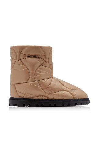 Padded Nylon Boots