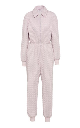 Quilted Shell Jumpsuit