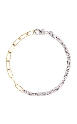 Duo Chain 18k Yellow & White Gold Bracelet