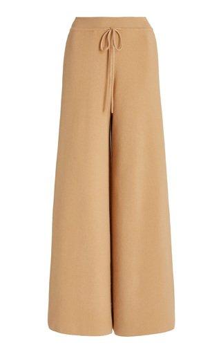 Baja Cotton-Blend Wide-Leg Pants