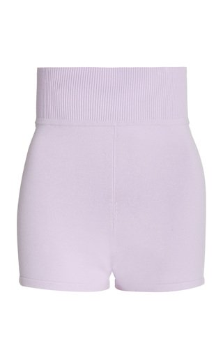 Theda High-Rise Stretch-Jersey Shorts